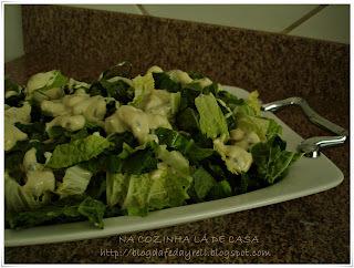 salada de acelga com creme de maionese