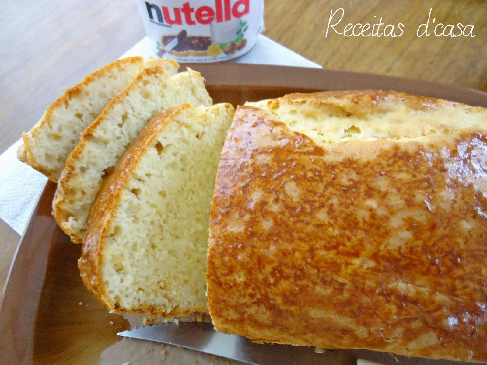 Pão de Minuto com Iogurte # Dia mundial do pão