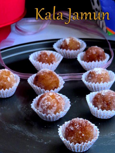 Gulab Jamuns | Kala Jamuns | Dry Jamuns  - Edible Gift