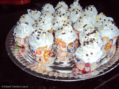 Mini Cupcakes de Laranja