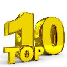 Recetas Top 10.....Feliz CumpleBlog......