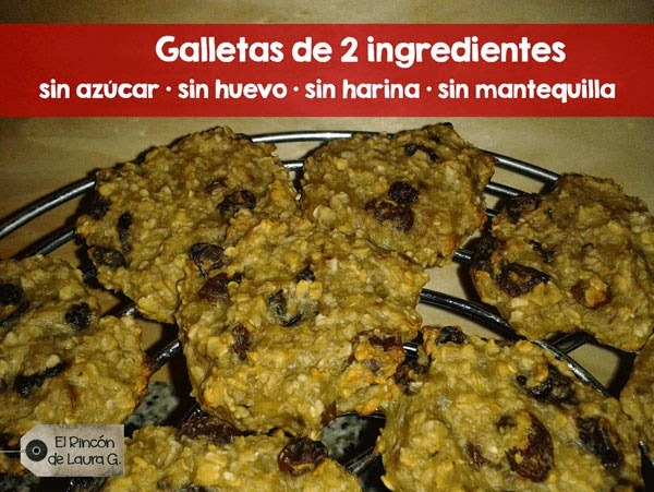 Receta de Galletas de 2 ingredientes