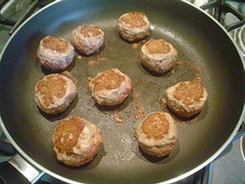 Tortitas de carne