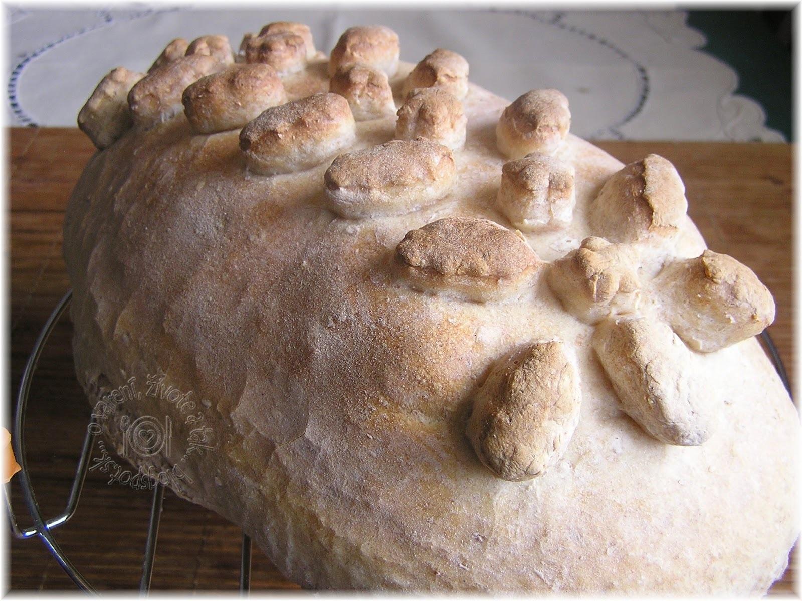 Šunka zapečená v chlebe