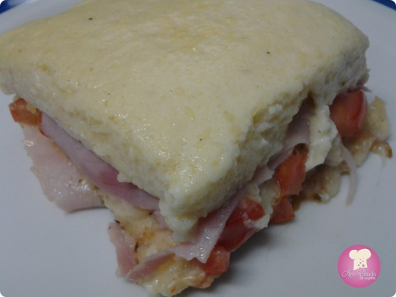 de sanduiches rapidos no forno