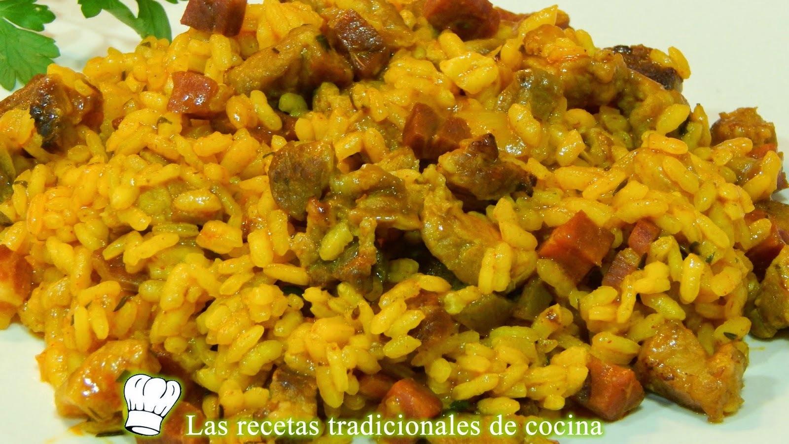 Receta de arroz a la Zamorana