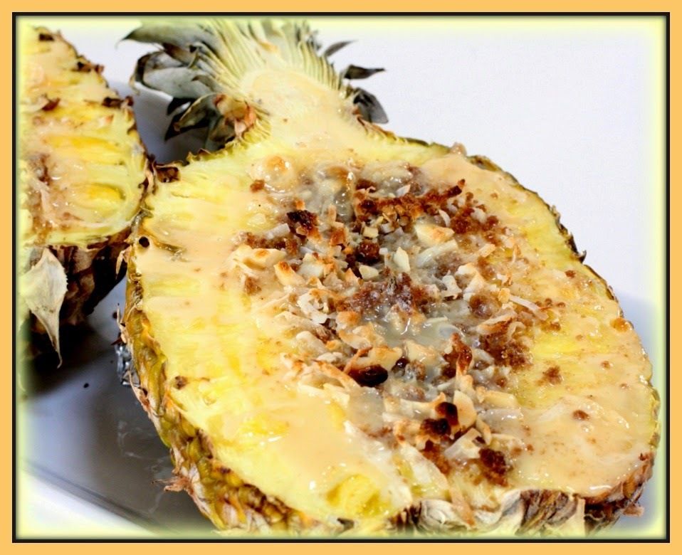 Abacaxi gratinado