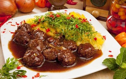 kafta com carne de porco