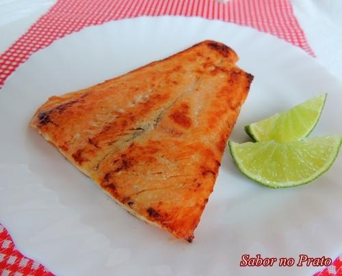 Salmão Frito na Manteiga