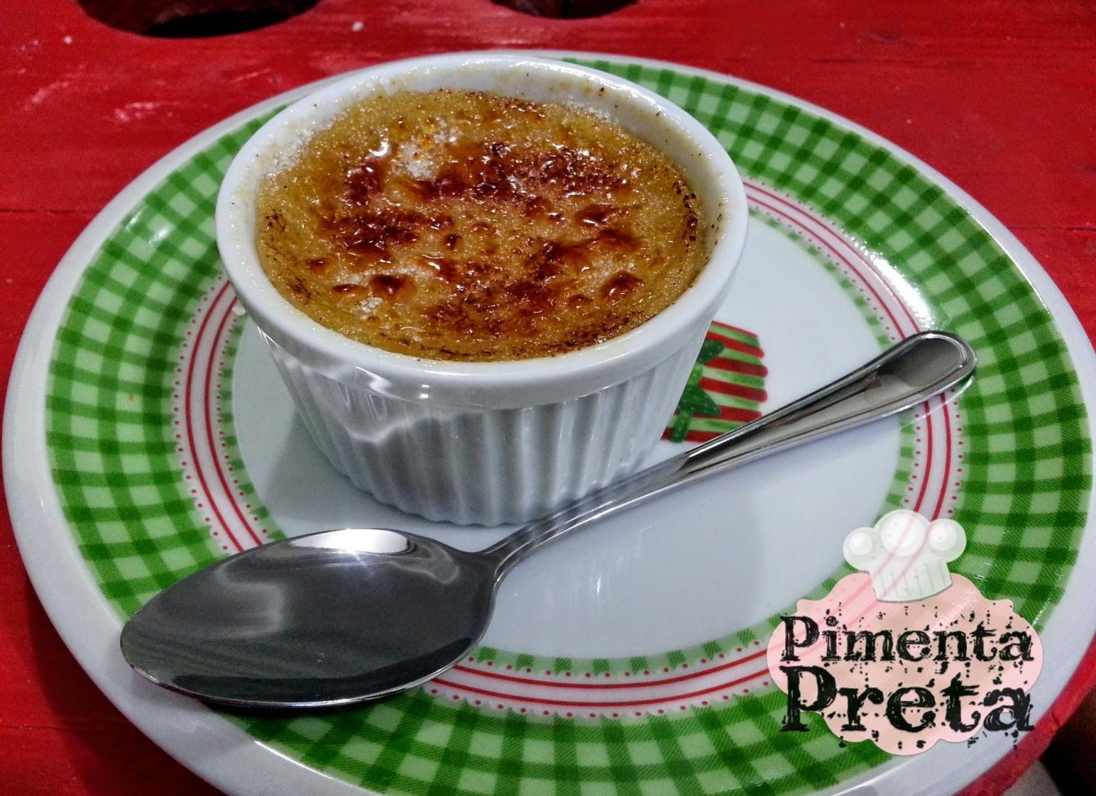 Crème Brûlée de Amêndoas