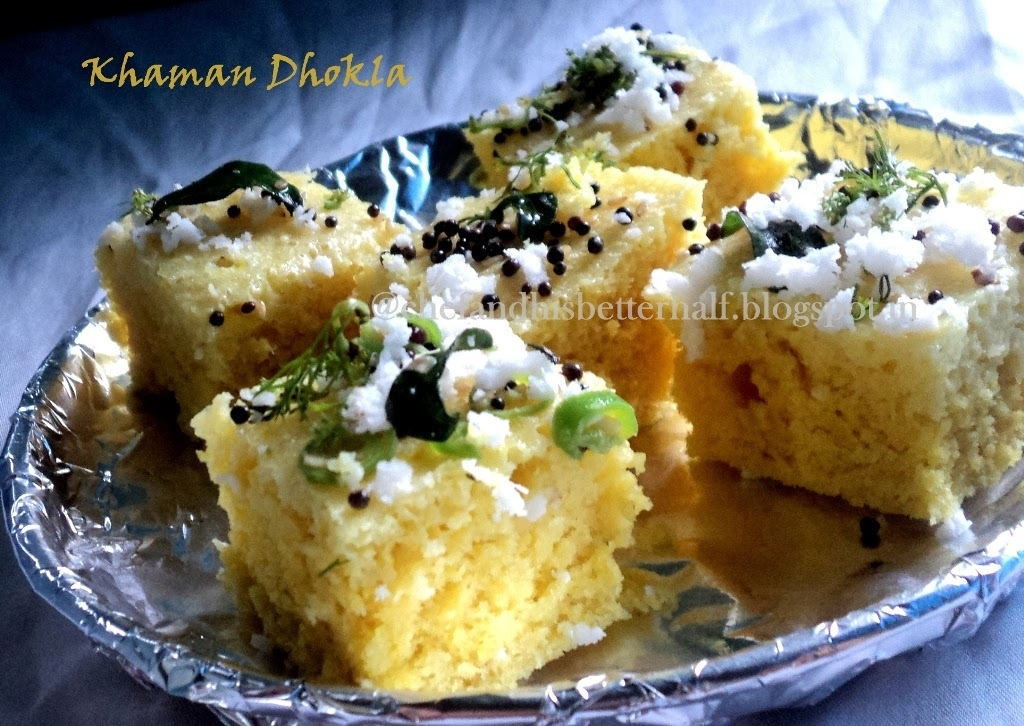 Instant Khaman Dhokla....in 20 minutes