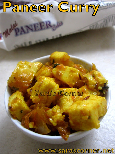 Paneer Curry | Kids Delight!