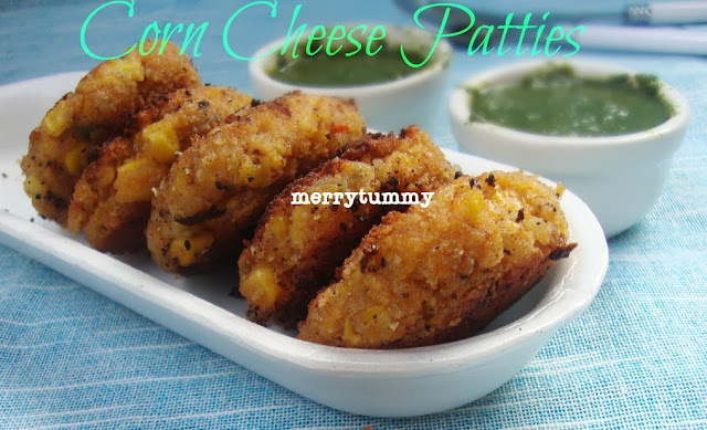 Corn Cheese Patties