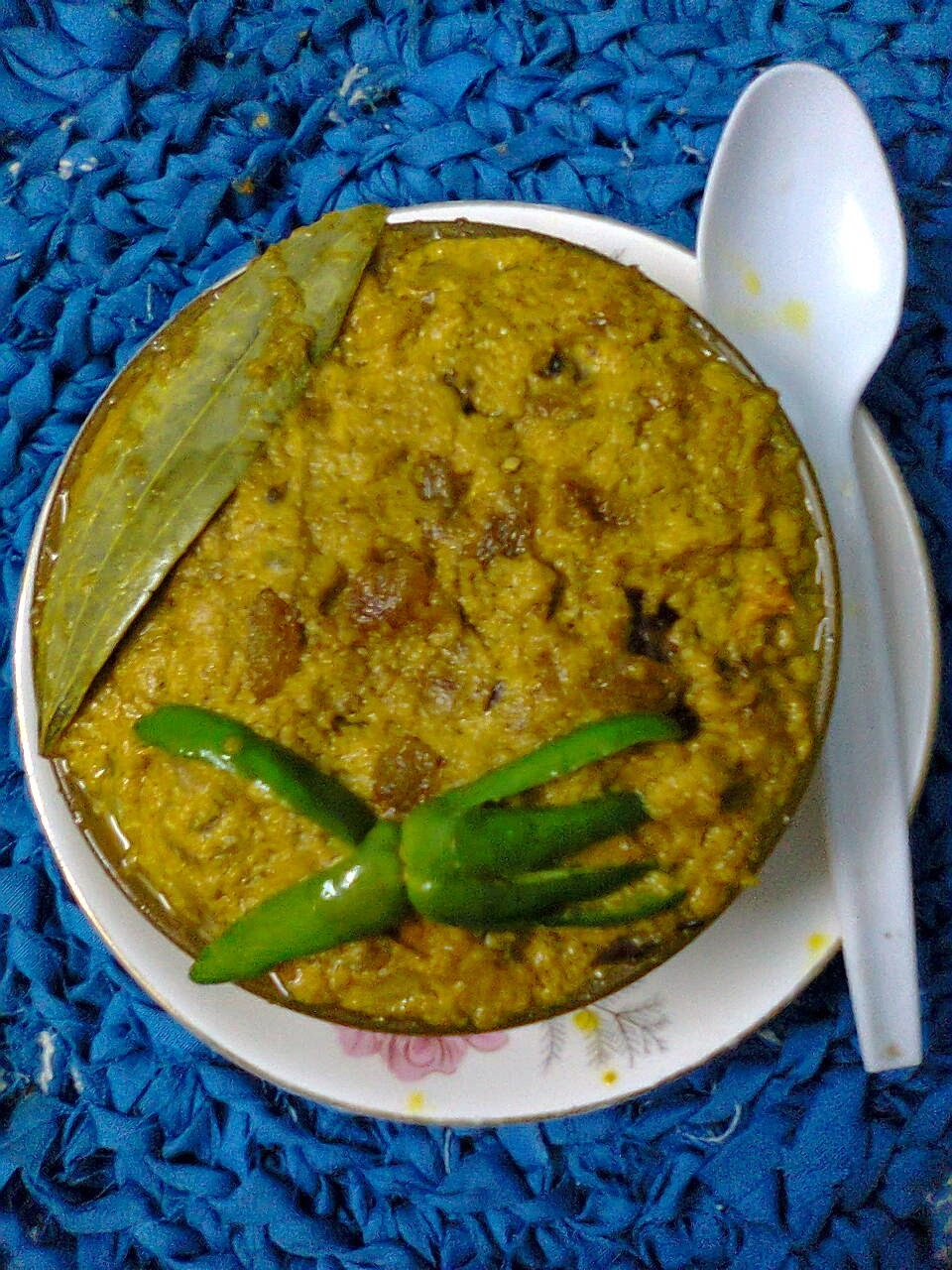 Dry Curry Of Poppy Seeds / Bengali Postor Kalia