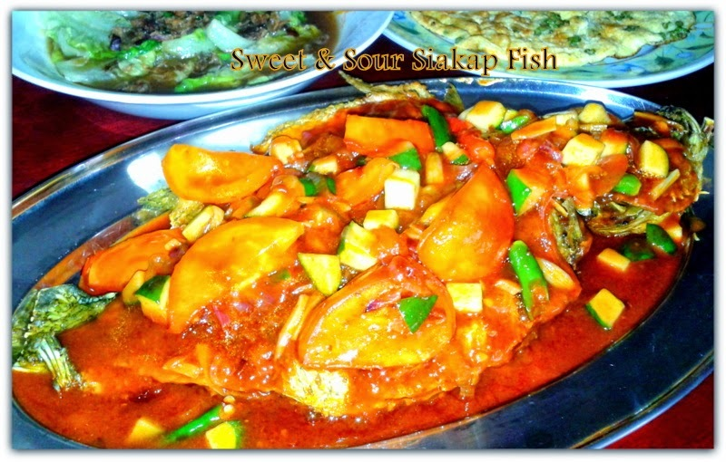^ SWEET & SOUR SIAKAP FISH ^