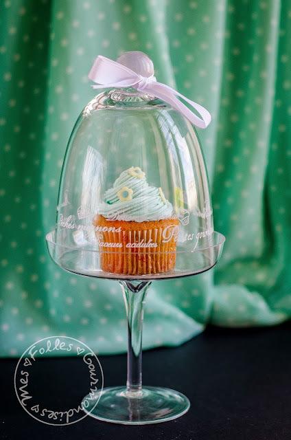 Mes cupcakes à la vanille !