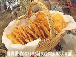 postres mexicanos-Deliciosos buñuelos tradicionales.