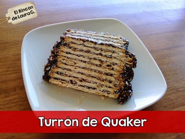 Receta de Turrón de Quaker