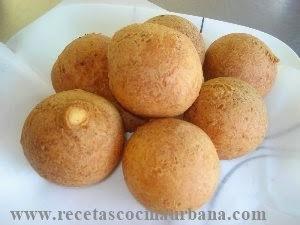 Repostería colombiana, buñuelos de queso fresco