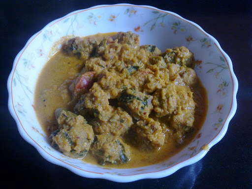 Pakoda  Curry