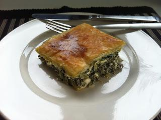 Spinat- og Feta Pai / Spinach- & Feta Pie