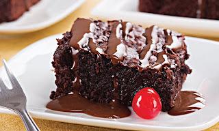 cobertura para brownie