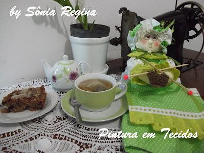 Bolo de Maçã para um nobre Chá da Tarde!!!