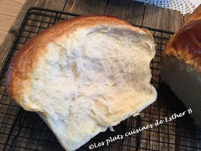 Pain japonais au lait Hokkaido (pain brioché)