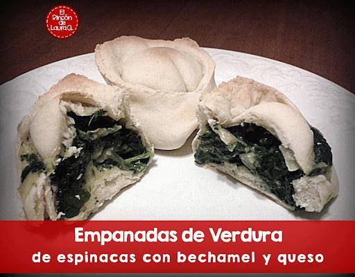 Empanadas de Verdura: espinacas con bechamel y queso