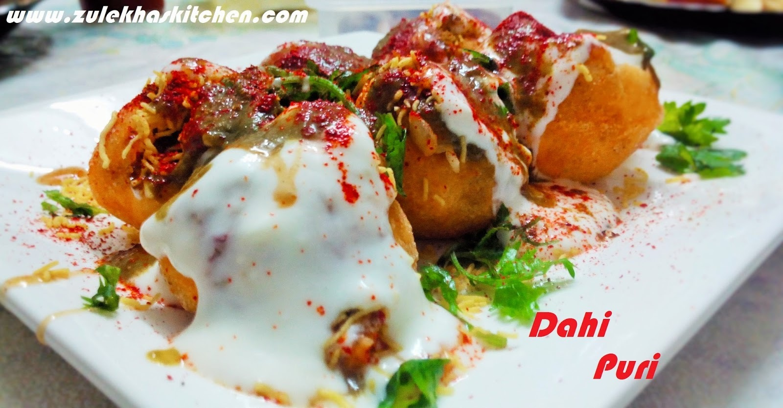Recipe of Dahi Batata Puri