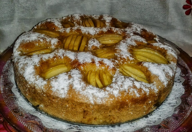 Clafoutis de Manzana