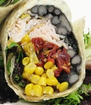MENU 107: MEATLESS MONDAY: SOUTHWESTERN WRAPS.