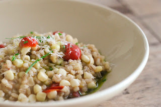 MENU: 87 MEATLESS MONDAY: RISOTTO DE CEBADA