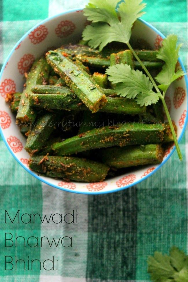 Marwadi Bharwa Bhindi /Stuffed Okra
