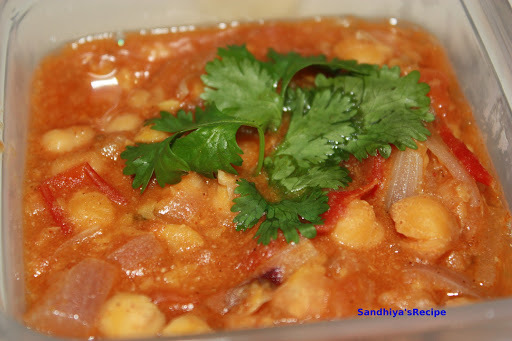 Channa masala(Chickpeas curry)