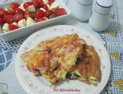 Omelete Chique e Saladinha