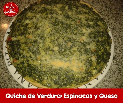 Quiche de Verdura • Tarta de Espinacas y Queso