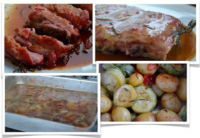 com fazer um molho com vinho para carne de porco assada