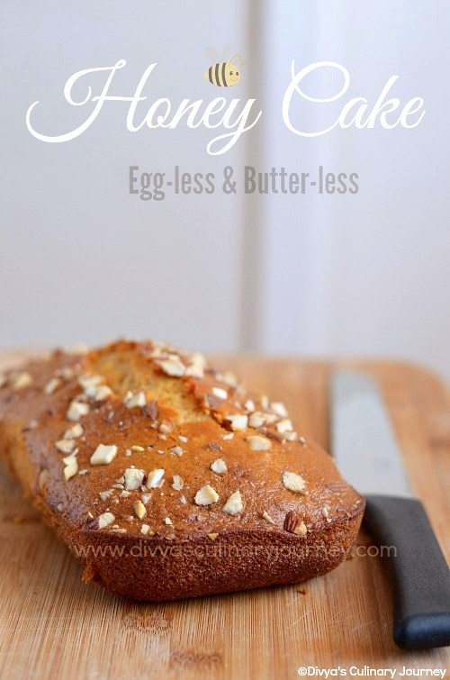 Honey Cake- Egg-less & Butter-less | Easy Snack Cake Recipes | Egg-less Baking