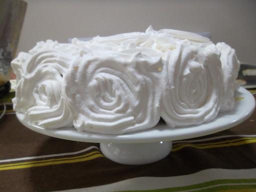 bolo de laranja com suco fervido