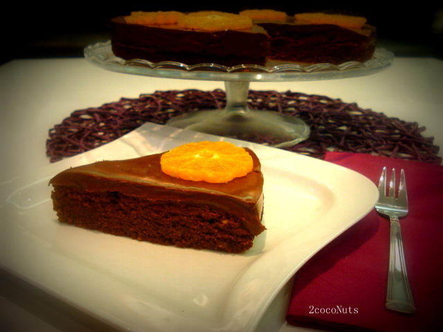 Čokoladna torta sa mandarinama