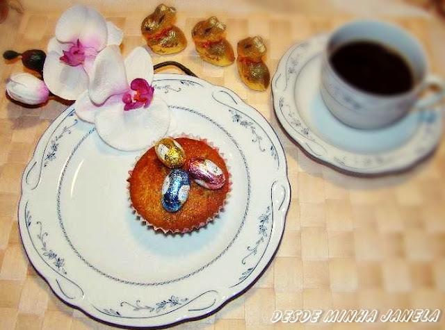 Muffin de maçã e um pedido  carinhoso aos meus leitores