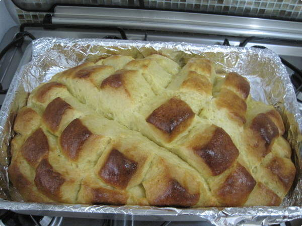 Pão Doce de Aipim