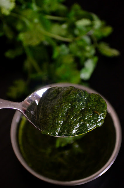 green chutney for sandwich