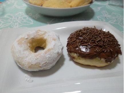 DONUTS ASSADOS OU FRITOS
