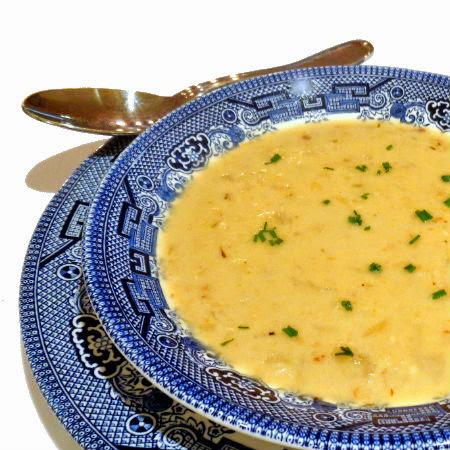 Golden Potato and Onion Soup