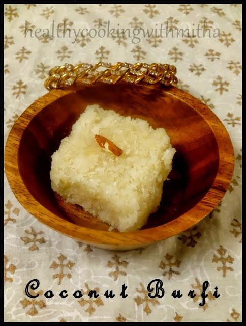 Coconut Burfi | Khobri Mitai | Soyi Khadi