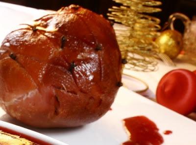 Tender ao Molho de Framboesa - receitas natalinas