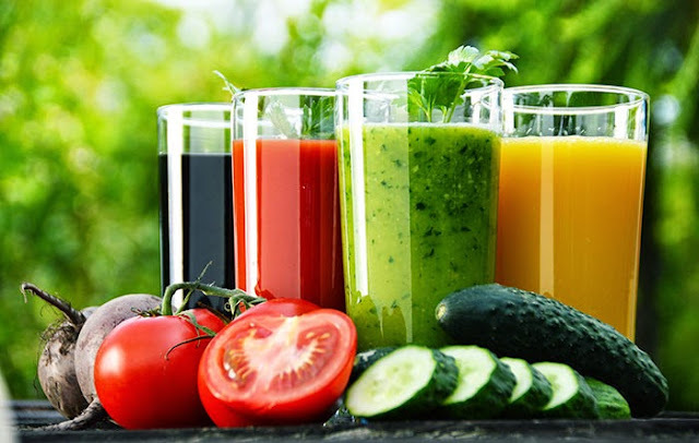 25 Receitas de suco verde (suco detox)