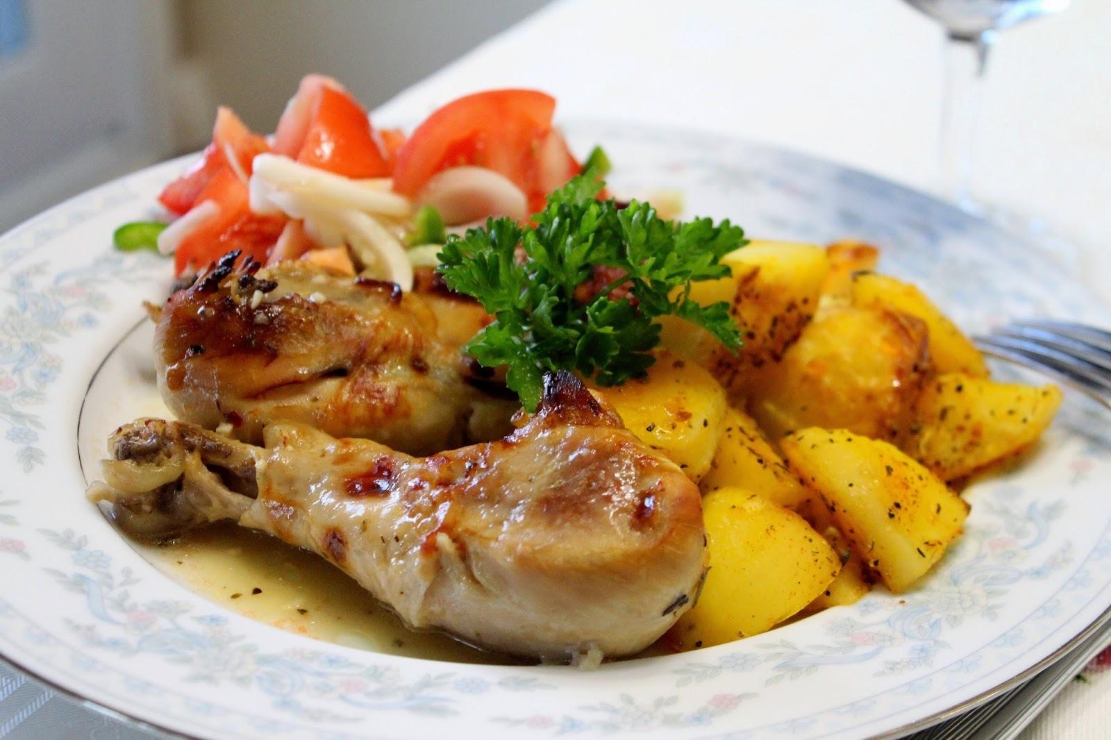 Piletina na grčki način